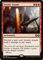 1x Seismic Assault - NM - Ultimate Masters - SPARROW MAGIC -  mtg