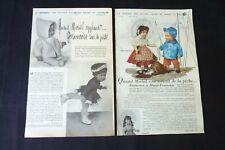 MODES ET TRAVAUX -Francette- Marie -Françoise & Michel 1957-1961  réf 222