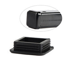 1pc Black Class III IV 2'' Black Hitch Receiver Cover Cap Dust Protecter Rubber