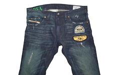 DIESEL THAVAR 0882R Skinny Jeans W32 L32 100% AUTENTICO