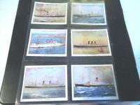 1934 Wills FAMOUS BRITISH LINERS ships series 1 set 30 cards Tobacco Cigarette