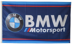 BMW Banner Flag 3X5Ft Motorsport M Power Racing Flag