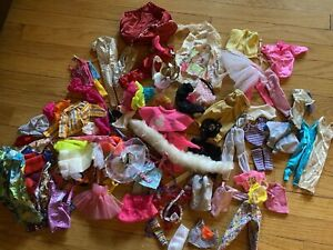 Barbie Ken Mattel Clothes Lot 1980s 1990s Variety Mixed Accessories