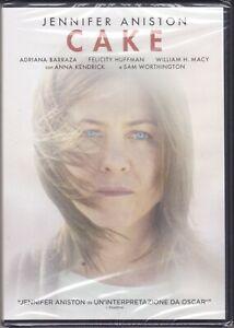 Dvd CAKE con Jennifer Aniston nuovo 2015