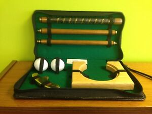 Golf Putting set, in carry case, Past Times, Fun gift