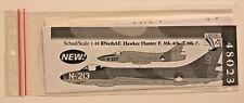 Dutch Decal 1/48 Hawker Hunter Mk.4.6.T.7 RNethAF. 48023