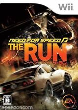 Used Wii Need for Speed: The Run Nintendo JAPAN JP JAPANESE JAPONAIS IMPORT
