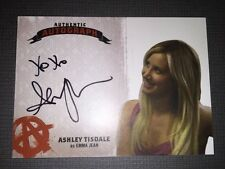 Sons Of Anarchy Trading Cards Autograph Card Of Ashley Tisdale As Emma Jean.