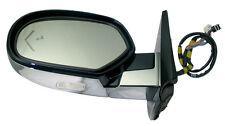 OEM Driver Side Mirror 09-14 Escalade Suburban Ming Blue Met Chrome DL3 UFT Z75