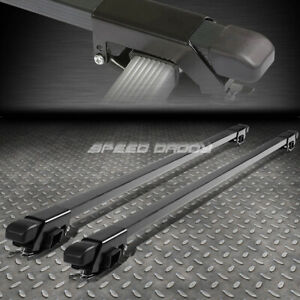 "50"" ALUMINUM ROOF RACK CAR/SUV TOP CROSSBAR LUGGAGE/BAG CARGO SQUARE BAR RAIL"