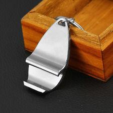 Mini Silver Keychain Bottle Opener Metal Key Ring Beer Cap Corkscrew High Sales