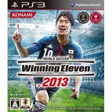 New PS3 World Soccer Winning Eleven 2013 japan import game Soccer
