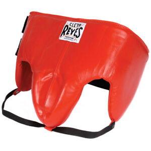 Cleto Reyes Kidney and Foul Padded Boxing Protective Cup - Red
