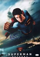 BRANDON ROUTH Signed SUPERMAN RETURNS 12x18 Photo Autograph JSA COA