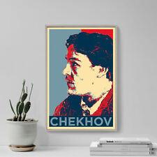More details for anton chekhov art print - hope - photo poster gift