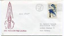 1968 2nd Poseidon Pad Launch Cape Canaveral FL Kein Hart SPACE NASA SAT NASA