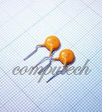 47pF 2000V 2KV 5% Condensatore in Ceramica alta tensione Philips BC 2 pezzi