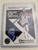 2019-2020 Panini Chronicles DeAngelo Russell Timberwolves Gem Mint # 6