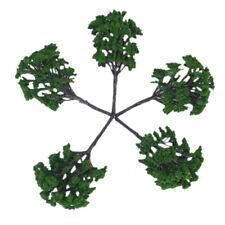 verschiedene Skala Building Park Garten 70pcs gemischtes Modell Baum