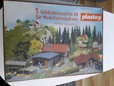 Faller/ Plastoy 5 Gebäudebausätze Dorfset