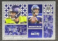 Russell Wilson 2020 Panini Mosaic Montage Base Seattle Seahawks #M28