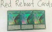 3x Asymmetaphys Ultra Rare CIBR 1st ed Mint