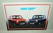 Old Sales Brochure For The Austin Mini - French Text .