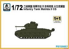 S-model 1/72 PS720057 Infantry Tank Matilda II CS (1+1)