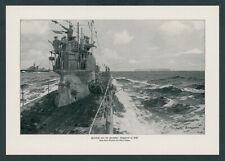 Claus Bergen U-Boot Feindfahrt Nordsee Kaiserliche Marine Helgoland Seekrieg ´17