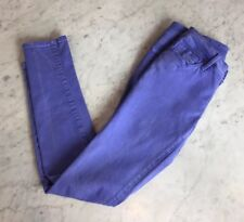 Bullhead Black PURPLE Skinniest Crop Ankle Stretch Jeans Size 3 Juniors  25x28.5