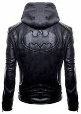 Justice League New Gotham The Dark Knight Outlaw Batman Leather Jacket