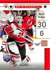 2005-06 Be A Player First Period #52 Martin Brodeur /100