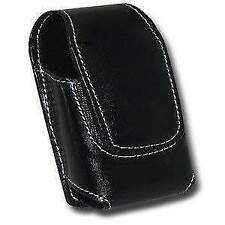 AMZER Optima Leather Pouch Size 4 For BlackBerry Style 9670 HTC Aria Nextel