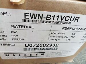 Walchem Ewn-b11vcur Metering Pump 0.6 Gph,150psi