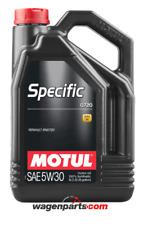 Aceite Motul Specific 0720 5W30 Renault motor Filtro Partículas FAP, 5 litros