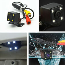 170° Car Rear View Reverse Backup Parking Camera 4 LED Night Vision Astern Image