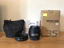 Nikon Nikkor 35mm F/1.8G AF-S DX Lens