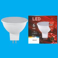 4x 6W (=35W) LED 12V 6500K Natural Daylight MR16 GU5.3 Spot Light Bulb Lamp