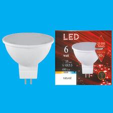 6W (=35W) LED MR16 Spot 12V 6500K Natural Daylight GU5.3 Spotlight Bulb Lamp