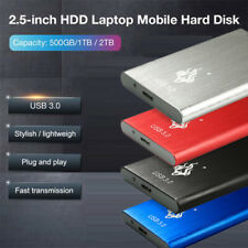 Portable USB 3.0 External Hard Drive Disk 2.5
