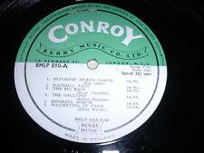 LIBRARY CONROY/BERRY MUSIC BLMP010 10inch LP 1966 Various Composer *RAR*