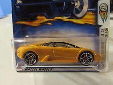 Hot Wheels Lamborghini Murcielago 2003 First Editions #043 Yellow!!