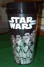 Star Wars Coffee Cup / Travel Mug with Lid Featuring Kylo Ren /  Storm Troopers