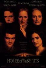 THE HOUSE OF THE SPIRITS Movie POSTER 27x40 Meryl Streep Jeremy Irons Glenn