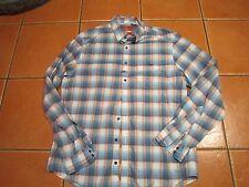mens R M WILLIAMS slim fit long sleeve dressy style shirt SZ XL