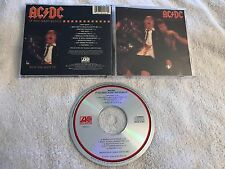 AC/DC IF YOU WANT BLOOD YOU'VE GOT IT ORIGINAL US CD (ATLANTIC 19212-2) RARE OOP