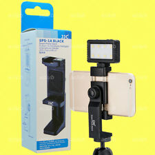 JJC SPS-1A Smartphone 360 Rotatable Tripod Stand Holder With Cold Shoe LED Mount