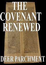 TORAH SCROLL BIBLE VELLUM MANUSCRIPT LEAF 250 YRS TURKEY Deuteronomy 29:1-30:13