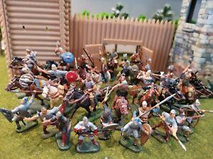 Lot soldats esci italeri zvezda vikings gaulois antiquité figurines 1/72