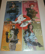 The New Ghostbusters #1 Cover A B C D Connecting Variant IDW Complete Set NM 9.4